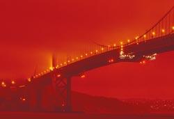 美西赤色天空 驚駭如世界末日