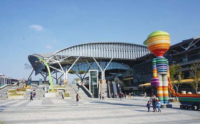 「台中車站鐵道文化園區」將有40間商家進駐,預計年底營運。圖/曾麗芳
