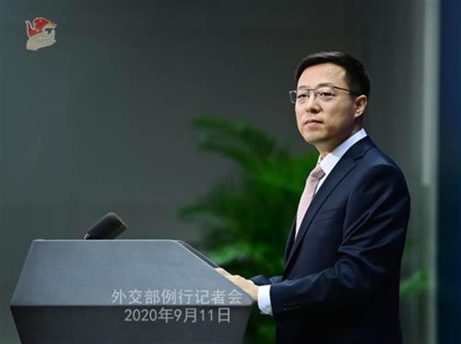 中對美限制駐美使領館及人員活動採取反制措施。圖為中國外交部11日例行記者會。(摘自中國外交部網站)