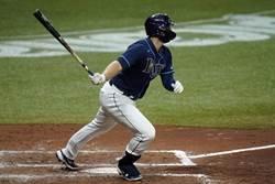 MLB》大聯盟首見 光芒先發打線「9張L」