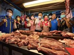 江啟臣宣傳反萊豬連署 批口罩都管不好遑論食安