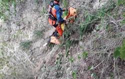 男子苗栗「心型公路」撿空拍機墜80米深谷 失聯一夜尋獲亡