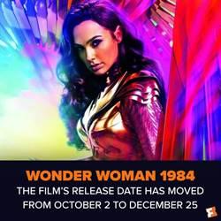 《神力女超人1984》4度延檔 暫敲聖誕節上映