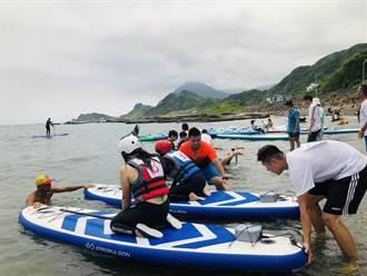 水上嘉年華基隆登場 邀親子體驗動力水上運動