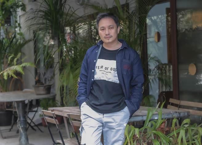 導演錢人豪暌違多年再拍國片,做事比前幾年更加圓滑。(盧禕祺攝)