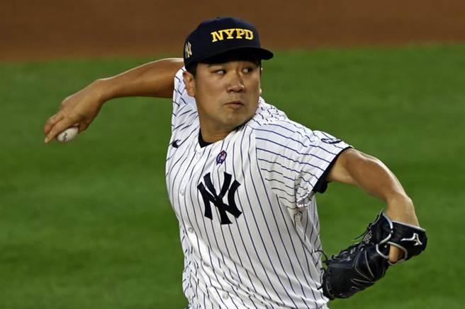 田中將大對金鶯隊先發5局拿下本季第2勝,雙重賽2場洋基都贏球。(美聯社)