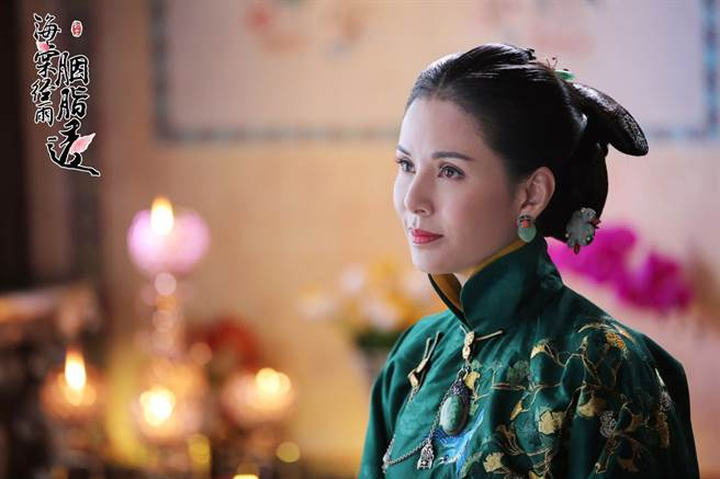 李若彤在新戲《海棠經雨胭脂透》演出壞媽媽,有粉絲不能接受。(圖/LiTV、李若彤工作室提供)