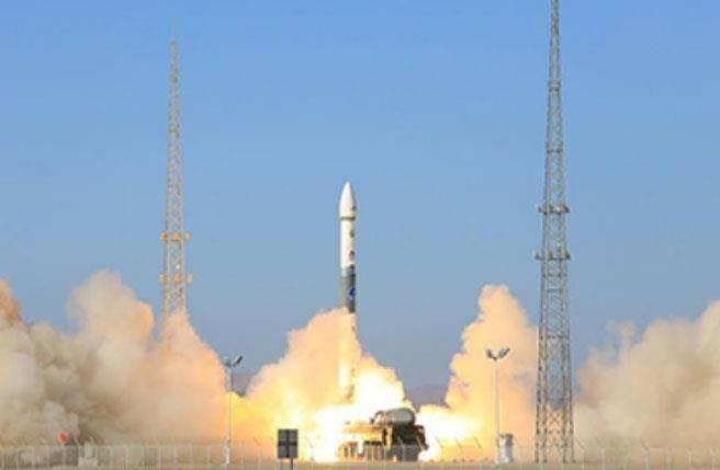 大陸「吉林一號」高分02C衛星發射失利。(圖/新華網)