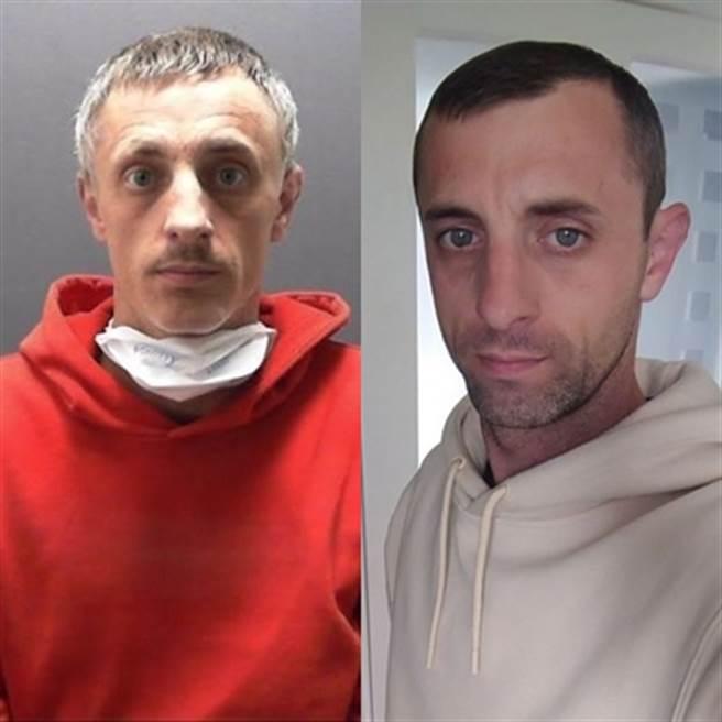 這名2小孩的爸爸名為莫斯(Mewse),曾有吸食毒品和性侵女童前科,所幸由臥底警察誘捕歸案。(每日星報翻攝)