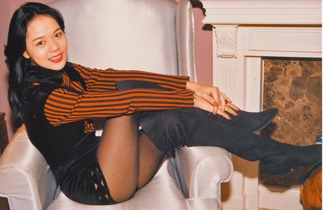 曾小燕昔日選美時,在後台被偷拍露毛照轟動全港。圖片提供:中時資料庫