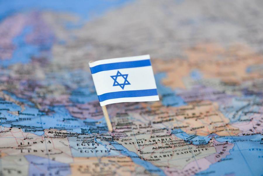 美國總統川普今天宣布以色列與巴林達成「和平協議」。(圖為以色列國旗示意圖,達志影像/shutterstock提供)