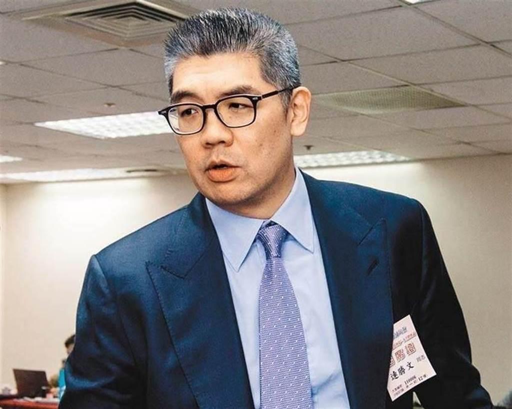 國民黨智庫副董 連勝文。(圖/本報資料照)