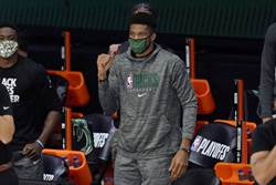 NBA》字母哥輸球失望 IG取消追隨公鹿隊友