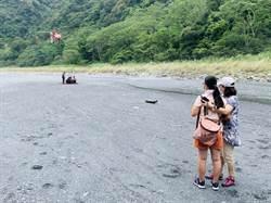 武界壩2女死者遺體 直升機載到栗栖溪露營地