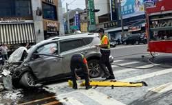 虎尾重大車禍 男子逆向駕駛撞8車3人輕重傷