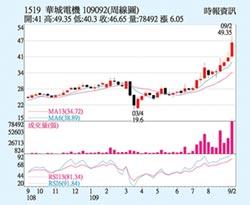 華城 全年營收拚高
