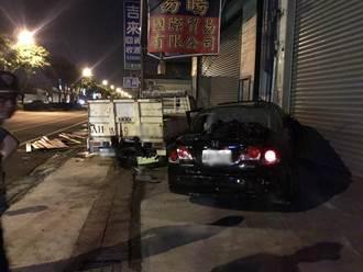 南市凌晨傳惡意逼車 3間工廠遭波及