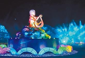 海灣燈光節 美人魚點亮澎湖灣