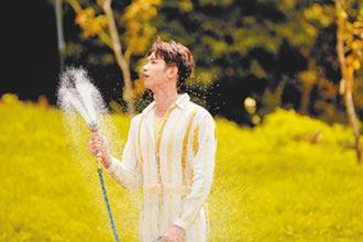 劉以豪灑掃庭園當汪星人管家