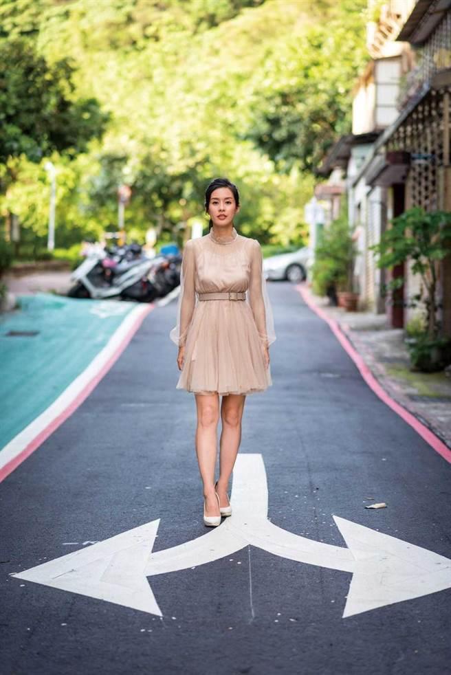非表演科系畢業的廖曉彤一度沒自信,她鼓起勇氣西進大陸增加實力。(圖/張祐銘攝)