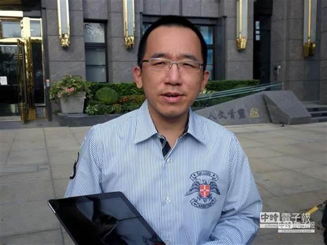 民進黨高雄市議員陳致中。(李義攝)