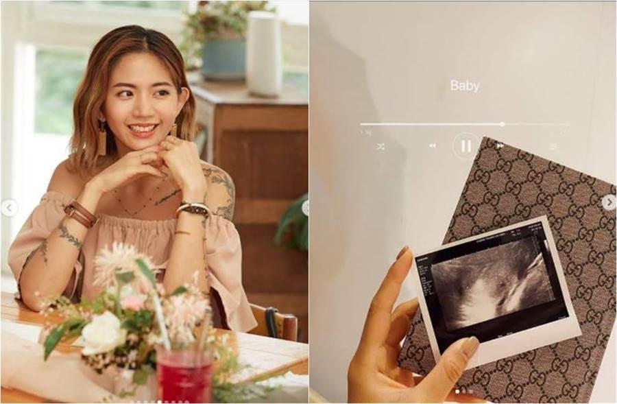 陳艾琳面臨第二次子宮外孕,她不捨寫下心路歷程。(圖/取材自陳艾琳 Instagram)