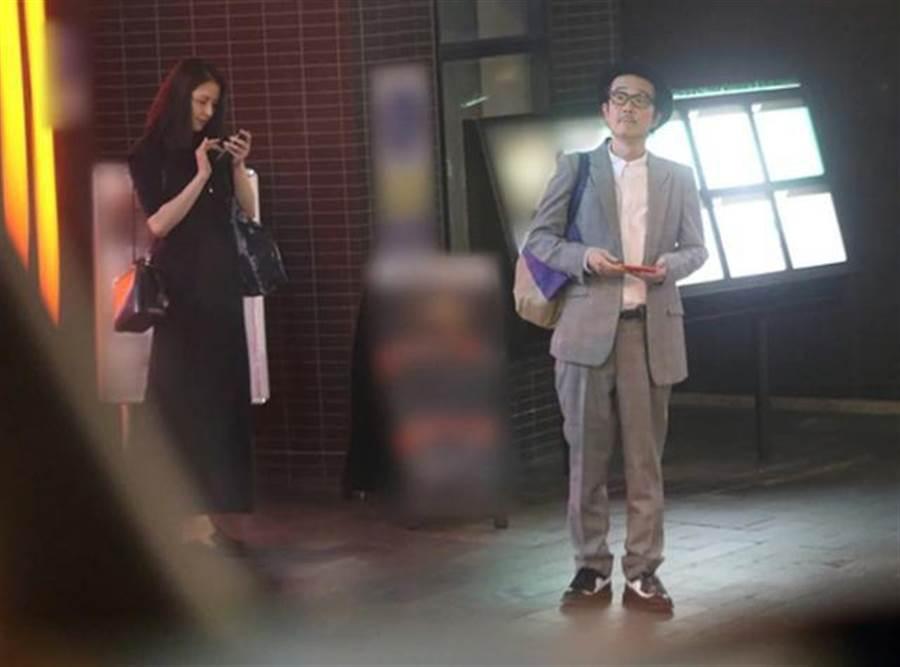 長澤雅美和Lily Franky約會被拍。(圖/翻攝自《女性Seven》)
