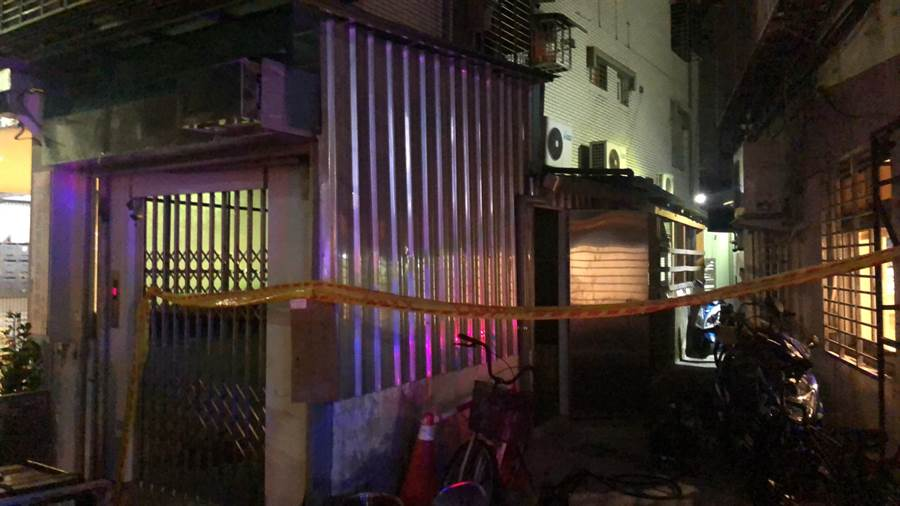 台北市驚傳中山區的中山北路2段59巷內某民宅地下室,有多人疑似一氧化碳中毒。(林俊翰翻攝)