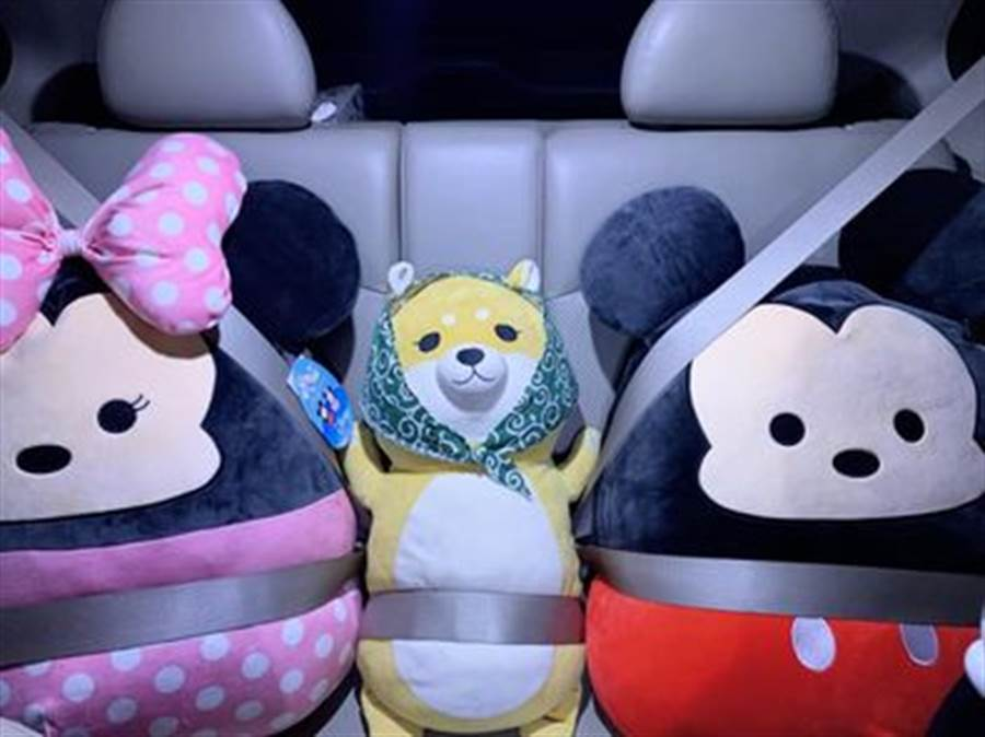 成功購入的網友也紛紛曬出家裡的超大型米奇米妮玩偶。(摘自Costco好市多商品經驗老實說)