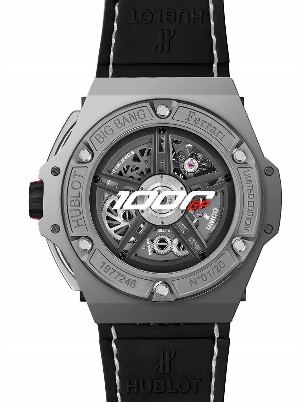HUBLOT宇舶錶歡慶Ferrari車隊參與第1000場GP賽事 推出全新BIG BANG Ferrari 1000 GP紀念錶