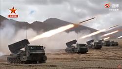 影》解放軍發布西藏演習視頻 多兵種火力展示對印軍施壓
