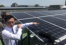 竹市太陽能光電屋頂發電 年賺814萬