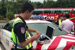 酒駕男惹糾紛 國道警送辦