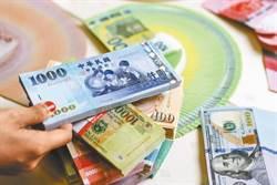 央行棄守新台幣29.5元防線 升至近二年半新高