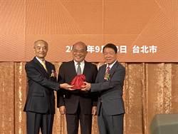 台灣上市櫃公司協會新舊理事長交接 朱志洋:產業公協會結盟 打造國家隊