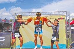 台東國際鐵人賽 蕭昱破4小時紀錄