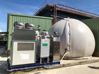 弘智畜牧沼氣綠能設備每日減少160公噸畜尿排放 發電供80家庭所需