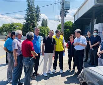 竹南工業區藏危機 擬改善人行道、電線地下化