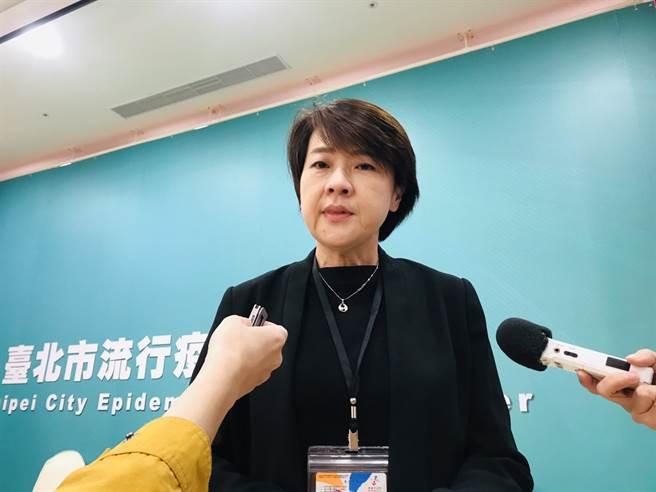 台北市副市長黃珊珊。(資料照,張穎齊攝)