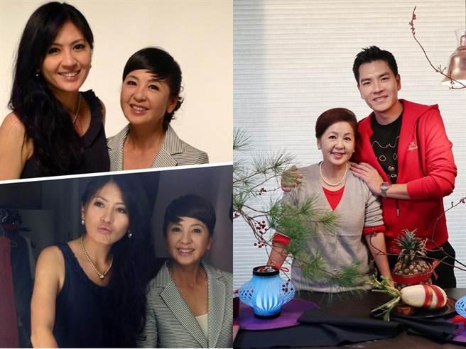 王传一的老婆林筱薇外型出眾,母亲是知名的广告明星。(图/FB@王传一、林筱薇)