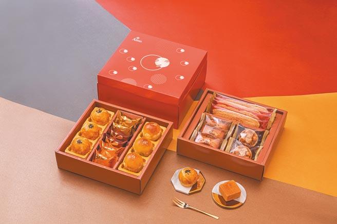 阿默蛋糕「大團圓雙層禮盒」。圖/阿默蛋糕提供