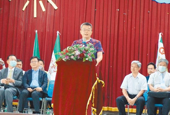 立法院副院長蔡其昌的父親蔡銘霖13日病逝,享壽75歲。(王文吉攝)