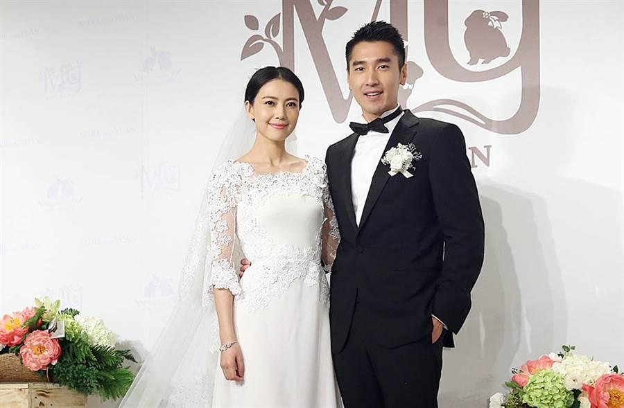 趙又廷、高圓圓2014年結婚,小倆口在去年喜迎女兒出生,幸福組成一家三口。(圖/本報系資料照片)