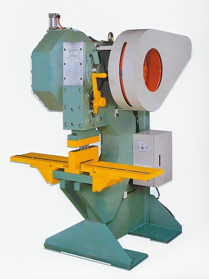 桂全研產的「機械式傳動鋼鐵沖孔機」沖孔速度快、生產效率高、高精度、低噪音,且工件無毛邊。圖/業者提供