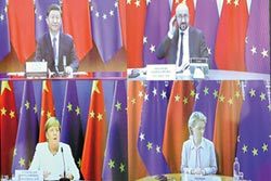 中歐峰會登場 加速經貿談判