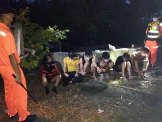 30名越南偷渡客跳海游上墾丁 居民憂國境之南成防疫破口