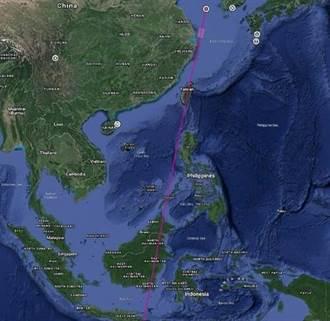 陸發射火箭飛越台灣上空 專家:不會有實質性影響