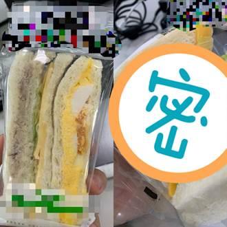 超商49元三明治 他打開吐司見「精緻做工」傻了