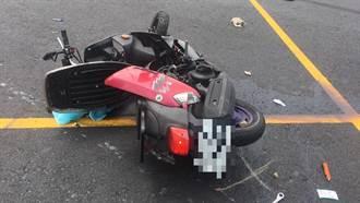 八里汽機車互撞 33歲騎士噴飛送醫不治