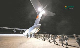 陸派邊境戰士 出征高加索軍演